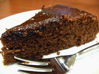 bolo chocolate molhadinho