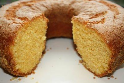Receita bolo de milho verde