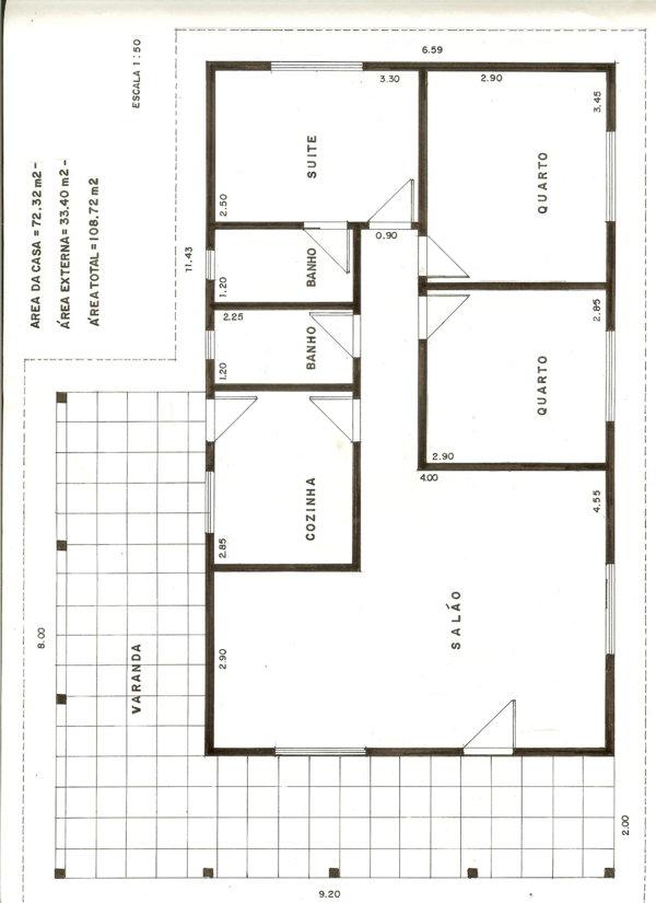 Plantas de Casas para construir – Modelos Grátis
