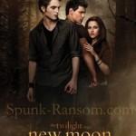 Pôster do novo filme Lua Nova – Crepúsculo 2