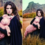 Isabeli Fontana na Vogue Brasil