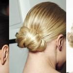 Penteados com coques: Fotos