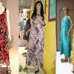 Vestidos longos estampados: Fotos