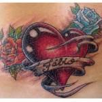 Tatuagens de Coração: Fotos