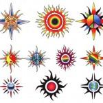Tatuagens de Sol – Fotos