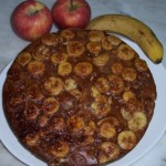 Receita Pizza de Banana