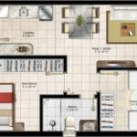 Plantas de Casas Residenciais – Fotos e Modelos