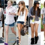 Shorts Boyfriend Moda 2011 – Dicas e Fotos