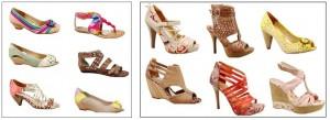 Coleção de Calçados dakota 2012