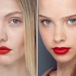 Maquiagem para Batom Vermelho