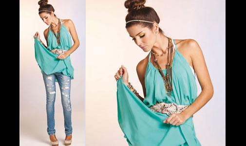 blusas femininas verão 2012