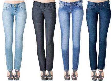 calças skinny 2012