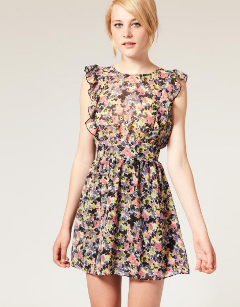 vestidos curtos para o verão 2012