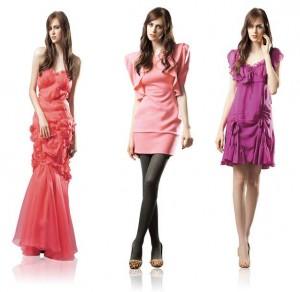 Vestidos de festa moda 2012