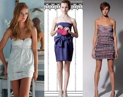 fotos vestidos tomara que caia 2012