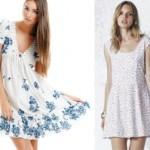 Vestidos Florais Verão 2012