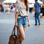 Fotos de Blusas femininas para o verão 2012