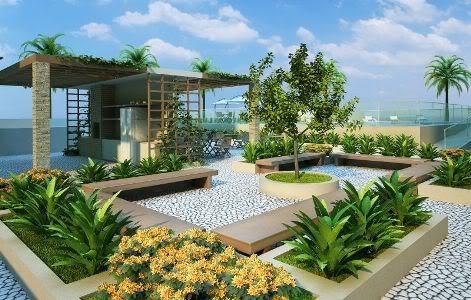 decoração de jardins residenciais