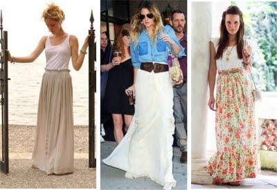 modelos de saias longas 2012