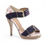 Sandálias passarela calçados