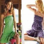 Modelos de vestidos de malha