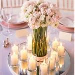 Arranjo de Mesa Para festa de Casamento