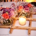 Arranjo de Mesa Para festa de Casamento 6