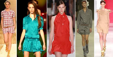 Macacão Feminino Moda 2012