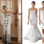Vestidos de noivas modernos