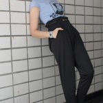 Calças de Cintura Alta – Moda 2012