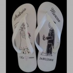 chinelo-personalizado para casamento