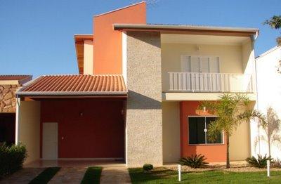 Fachadas de Casas Residências