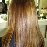 luzes em cabelos castanhos 2