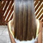 luzes em cabelos castanhos 3