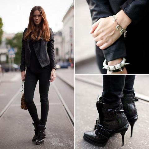 Moda Rock feminina 2012