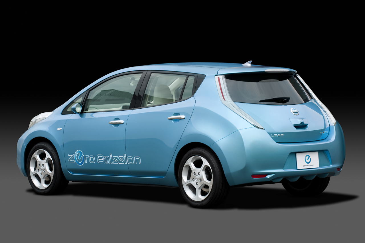 Nissan Leaf Fotos