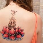 tatuagem nas costas para mulheres