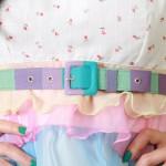 Vestidos com cintos – Tendências 2012