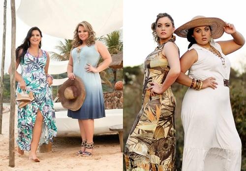 Vestidos para Gordinhas Primavera Verão 2012