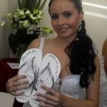 chinelos personalizados para casamento
