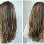cabelos com mechas texanas