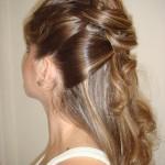 penteados de cabelos semi presos