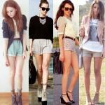 Shorts Femininos – Moda Primavera Verão 2012