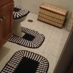 tapetes para banheiros