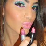 Maquiagem Colorida Para o Carnaval 2012
