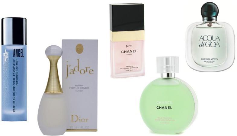 Perfume para cabelo