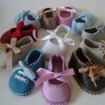 Modelos de Sapatinhos de Bebê