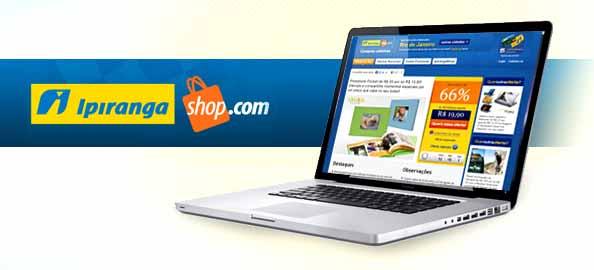 Site Ipiranga Shop Compras Coletivas
