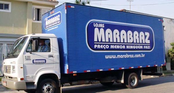 Site Lojas de Móveis Marabraz