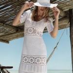 Vestidos de Praia de Crochê